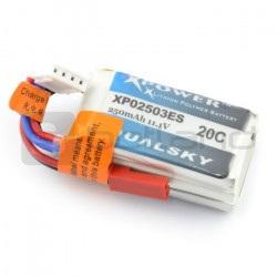 Pakiet LiPol Dualsky 250mAh 20C 3S 11.1V