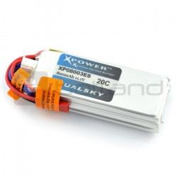Pakiet LiPol Dualsky 800mAh 20C 3S 11.1V