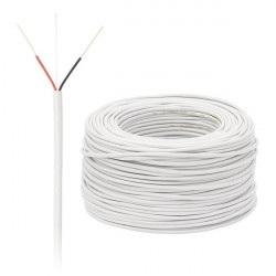 Przewód alarmowy 2 żyłowy 0,5 mm - 100 mb