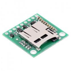 Moduł czytnika kart micro SD z konwerterem napięć - Pololu