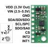 LSM6DS33 - 3-osiowy akcelerometr i żyroskop I2C/SPI- moduł Pololu - zdjęcie 3