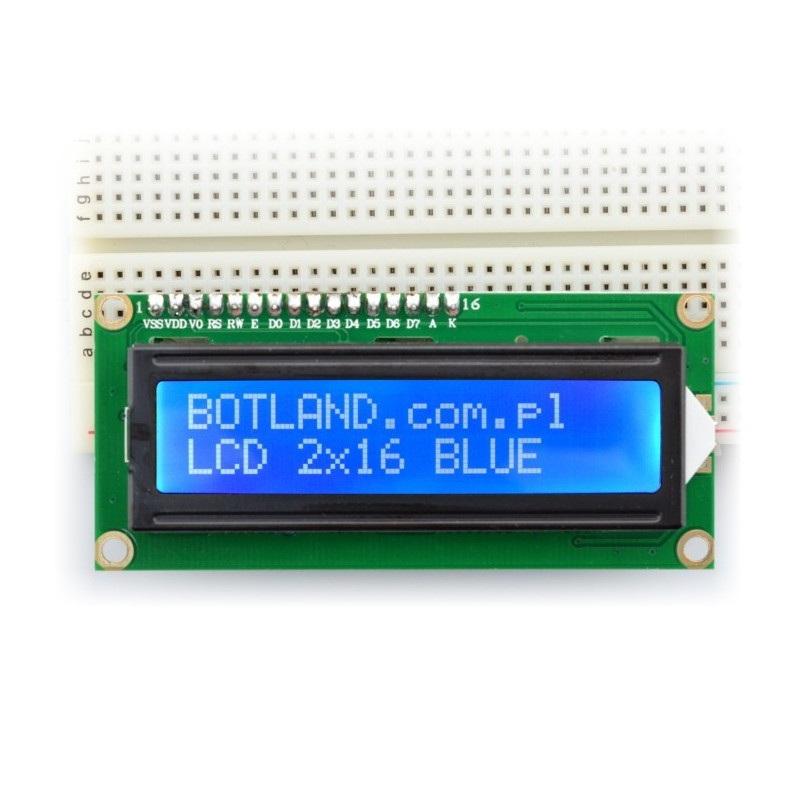 Wyświetlacz LCD dla Arduino ze złączami