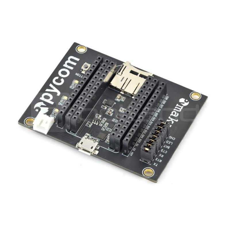 Pycom Expansion Board - podstawka dla modułu WiPy IoT