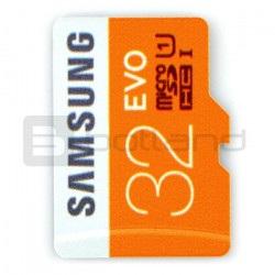 Karta pamięci Samsung EVO micro SD / SDHC 32GB 320x UHS-I klasa 10