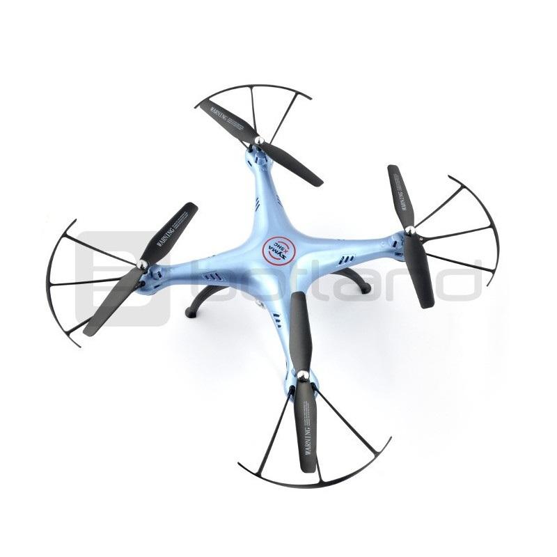Dron quadrocopter Syma X5HC 2.4GHz z kamerą 2Mpx - 33cm