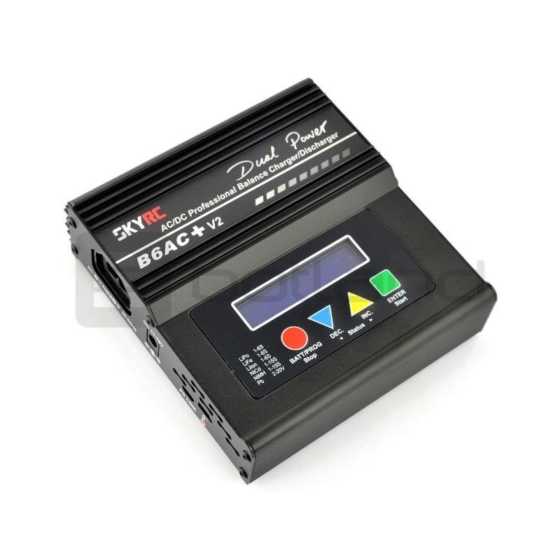 Ładowarka Li-Pol z balanserem SkyRC IMAX B6AC+ v2 USB z wbudowanym zasilaczem