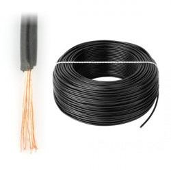 Przewód instalacyjny LgY 1x1,5 H07V-K - czarny - 1m
