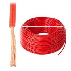 Przewód instalacyjny LgY 1x2,5 H07V-K - czerwony - 1m