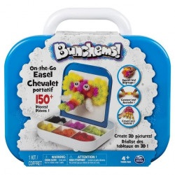 Bunchems kolorowe rzepy - zestaw podróżny 150 elementów