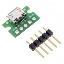MicroUSB typ B 5 pin -...