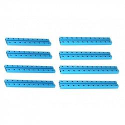 MakeBlock - średnie belki 0824 - niebieski - zestaw