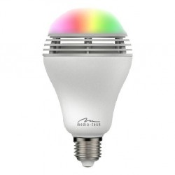 Smartlight MT3147 BT - inteligentna żarówka LED RGB z głośnikiem Bluetooth, E37, 5W, 350lm