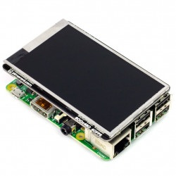 HyperPixel - Ekran dotykowy pojemnościowy LCD TFT 3,5'' 800x400px GPIO dla Raspberry Pi 3/2/B+/Zero
