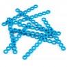 MakeBlock 84416 - Cuttable Linkage 080 - niebieski - 10szt. - zdjęcie 3