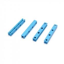 MakeBlock 60512 - belka 0808-056 - niebieski - 4szt.
