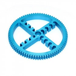 MakeBlock 83430 - koło zębate 80T - niebieski