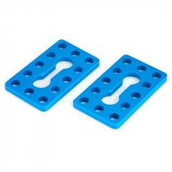 MakeBlock 61230 - płytka 0324-040 - niebieski - 2szt.