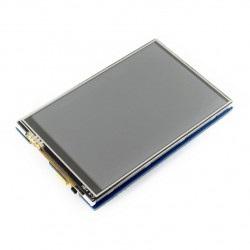 Ekran dotykowy rezystancyjny LCD TFT 3,5'' 480x320px SPI dla Arduino