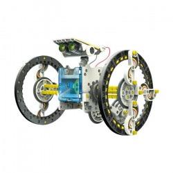 Zestaw robota - zasilany energią słoneczną - 14 w 1