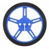 Koła Pololu 60x8mm - niebieskie - zdjęcie 2