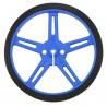 Koła Pololu 70x8mm - niebieskie - zdjęcie 2