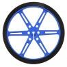 Koła Pololu 80x10mm - niebieskie - zdjęcie 2