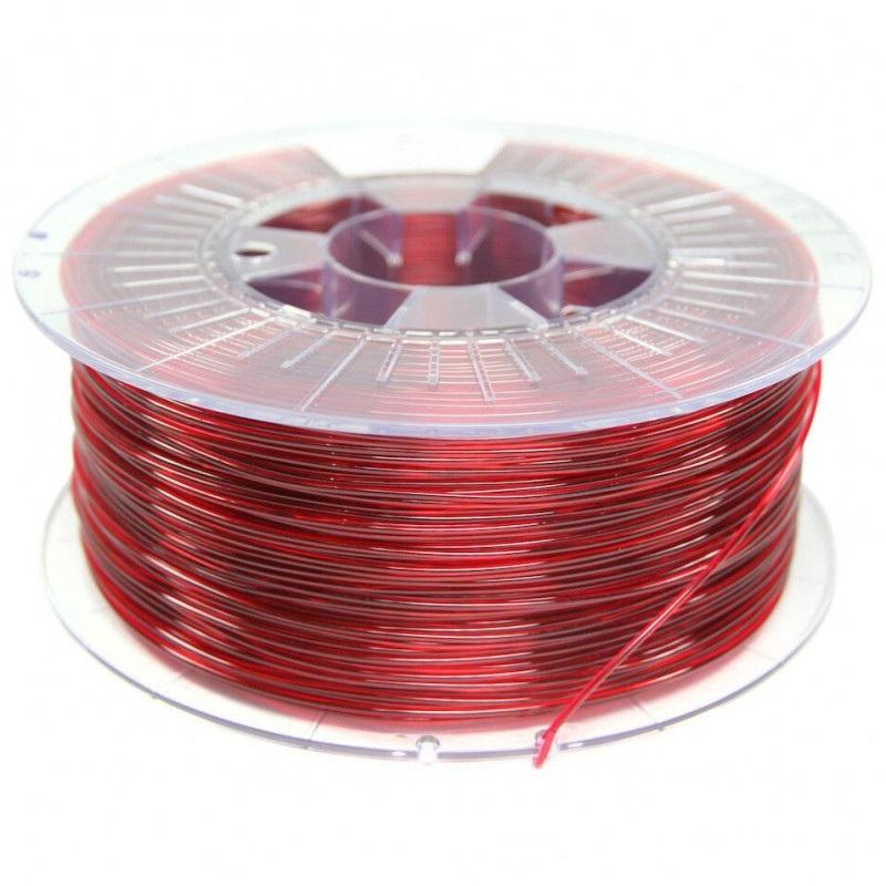 Filament Spectrum PETG 1,75mm 1kg - Transparent Red