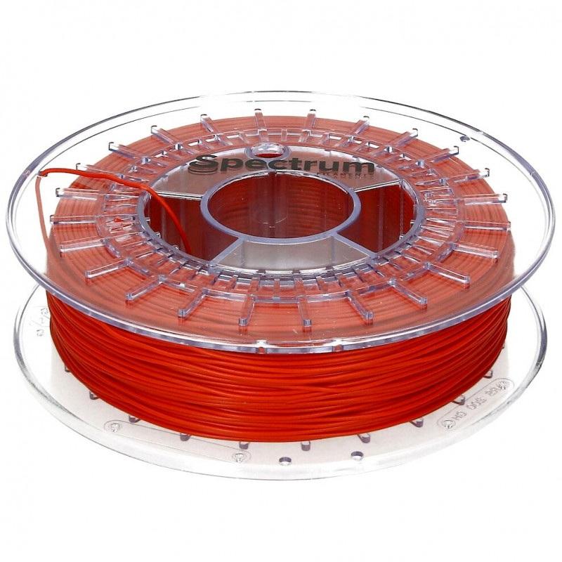 Filament Spectrum Rubber 1,75mm 0,5 kg  - Dragon Red