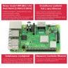 Raspberry Pi 3 model B+ WiFi Dual Band Bluetooth 1GB RAM 1,4GHz - zdjęcie 6