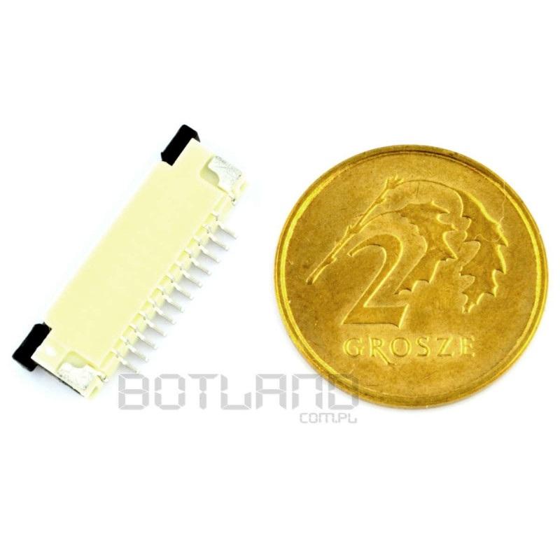Złącze: FFC / FPC 12 pin, raster 1mm