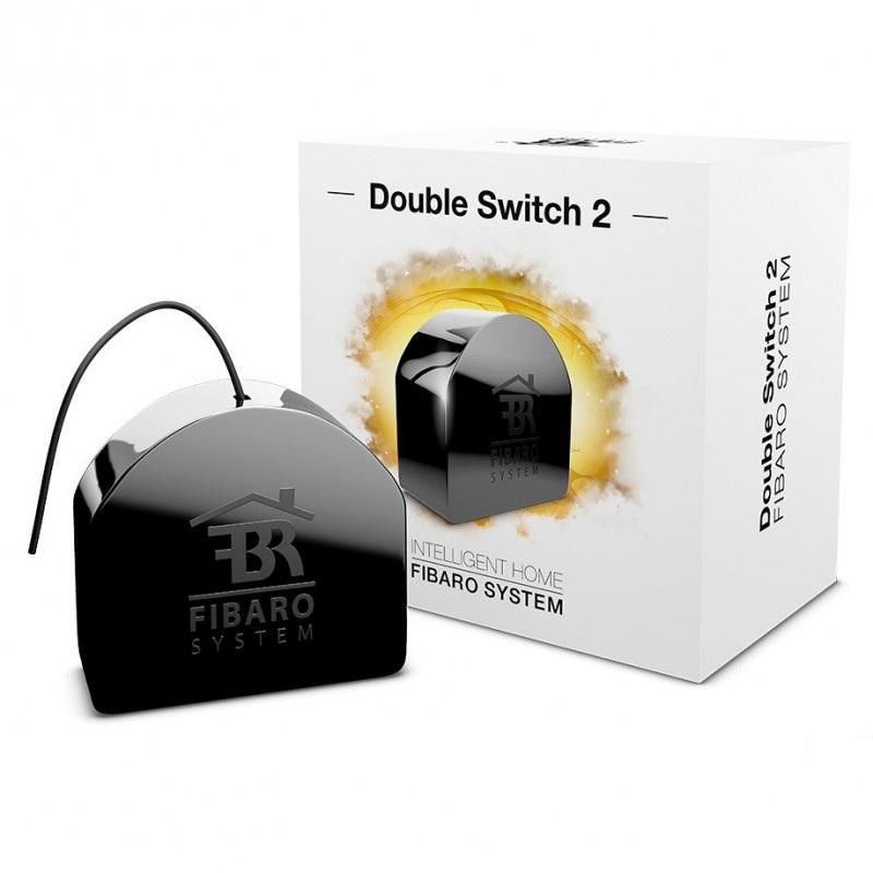 Fibaro Double Switch 2 - 2x przekaźnik 230V Z-Wave