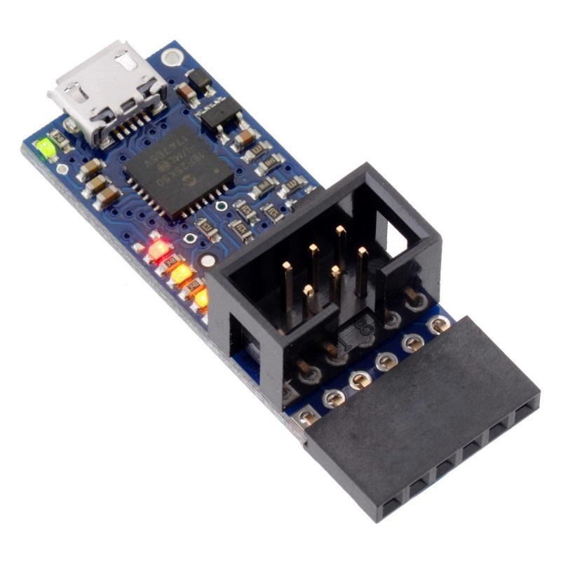Programator USB AVR Pololu v2.1 - microUSB 3,3V/5V