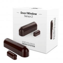 Fibaro Door/Window Sensor FGDW-002-6 - czujnik zbliżeniowy i temperatury Z-Wave - czerwony