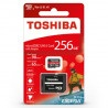 Karta pamięci Toshiba Exceria M303 microSD 256GB 98MB/s UHS-I klasa U3 z adapterem - zdjęcie 1