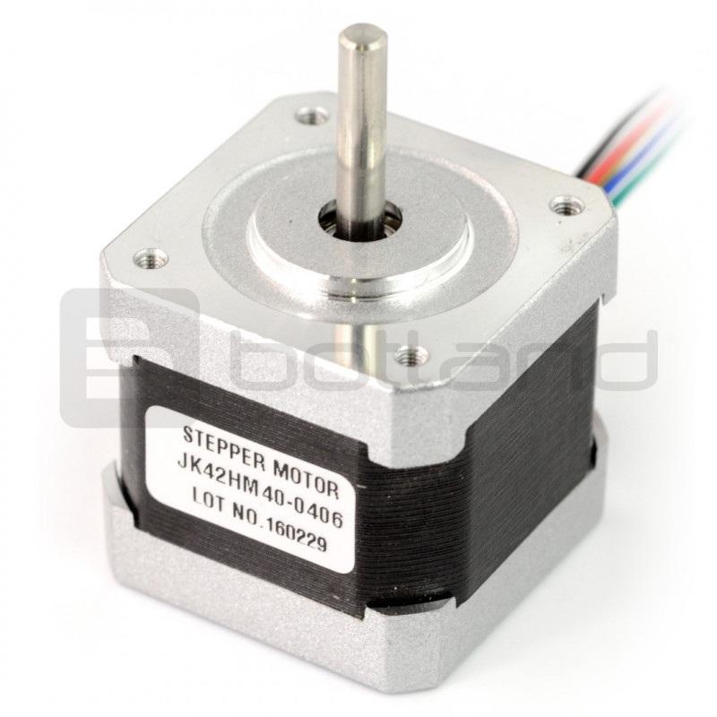 Silnik krokowy 42HM40-0406 400 kroków/obr 4,0V / 1,2A / 0,25Nm