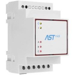 ASTmidi GPS - zegar astronomiczny na szynę DIN z GPS - 2 x wyjście  230V / 5A + wewnętrzna antena