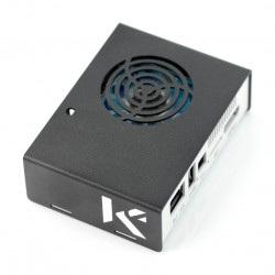 Obudowa do Odroid XU4 - metalowa czarno-biała