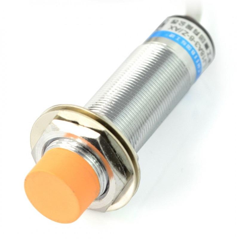 Indukcyjny czujnik zbliżeniowy LJ18A3-8-Z/BY 2mm 6-36V