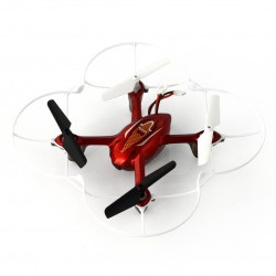 Dron quadrocopter Syma X11C 2.4GHz z kamerą - 15cm - czerwony