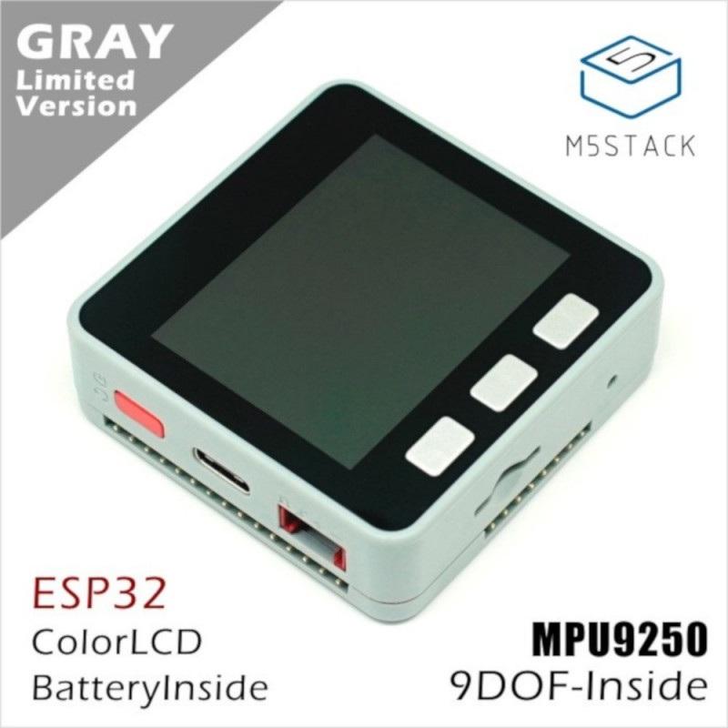 """M5Stack Core - ESP32 Tensilica LX6 Dual-Core 240MHz WiFi Bluetooth - MPU9250 - LCD 2"""""""