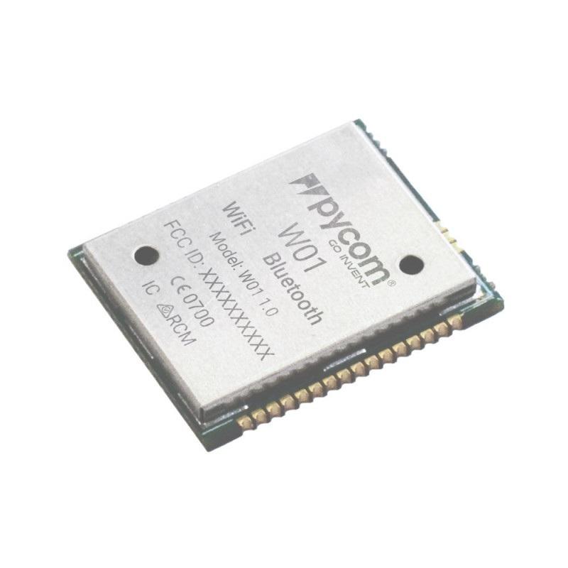 PyCom W01 ESP32 - moduł WiFi, Bluetooth BLE + Python API