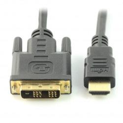 Przewód HDMI - DVI-D - dł. 1,5 m
