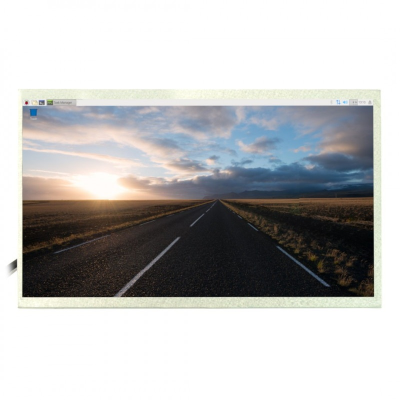 Ekran LCD TFT 10,1'' 1024x600px dla Raspberry Pi 3B+/3B/2B/B+
