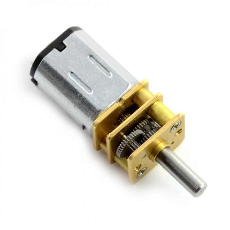 Silnik N20-BT37 micro 210:1 140RPM - 9V