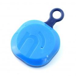 NotiOne Play - lokalizator Bluetooth z buzzerem i przyciskiem - niebieski