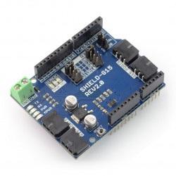 Cytron G15 Shield - sterownik serw 4-kanałowy UART 15V/5A - dla Arduino