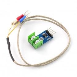 Moduł MAX6675 - czujnik temperatury z termoparą - SPI