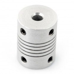Łącznik elastyczny 5x5mm