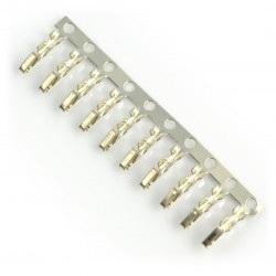 Pin żeński do obudowy gniazda raster 2,54mm 10szt.