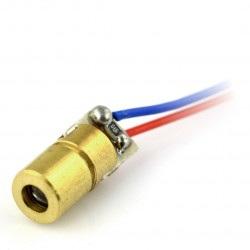 Laser 5mW czerwony 3-5V